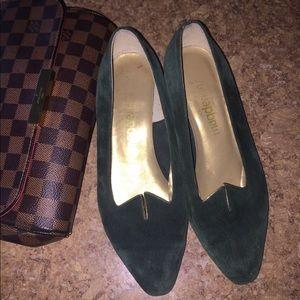Vintage suede style Heels